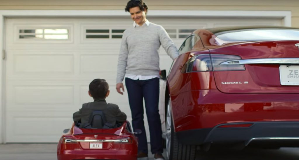 Tesla Teams with Radio Flyer